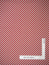 Christmas Mary Engelbreit Red Stripe Cotton Fabric QT 23970 Trim Tree -22 Inches