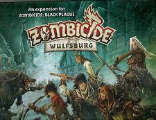 CMON Zombicide Wulfsburg Black Plague Expansion New shrinkwrap