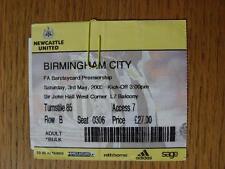 03/05/2003 Ticket: Newcastle United v Birmingham City  (folded)