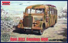 OPEL BLITZ OMNIBUS W.39 (GERMAN WEHRMACHT & SOVIET ARMY MKGS) 1/72 RODEN