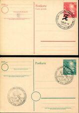 BUND 1949 PSo1-2 SST BUNDESTAG GANZSACHE(Z7410b