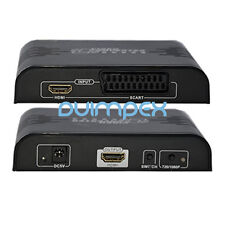 A03 Scart Video / DVD zu HDMI Konverter Wandler Adapter 1080P TV Fernsehn Monito