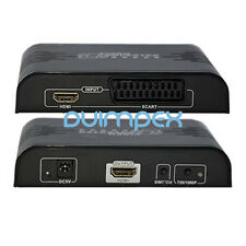 Scart Video / DVD zu HDMI Konverter Wandler Adapter 1080P TV Fernsehn Monitor