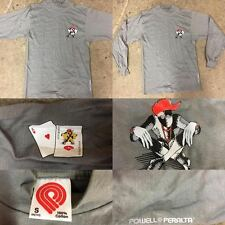 POWELL PERALTA VINTAGE NOS RAY BARBEE RAGDOLL LONG SLEEVE SHIRT - SIZE S -CLIVER