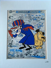 Dastardly & Muttley - Wacky Races - Hand Drawn & Hand Painted Cel