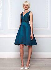 BHS Cecilia Bridesmaid Dress Ocean Size 14