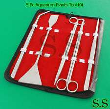 Aquarium Maintenance for live Plants Fish Tank 5 Pc Tool Kit
