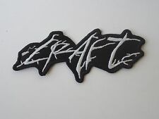 CRAFT BLACK METAL EMBROIDERED PATCH