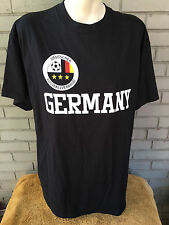 Germany Soccer Deutscher Fussballverband Black T-Shirt Large Simply Sports