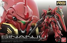 Bandai 1/144 RG-22 New RG Gundam MSN-06S SINANJU Mobile Suit from Japan