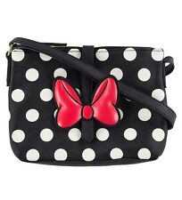 Disney Parks Minnie Mouse Dot Crossbody Bag by Loungefly New with Tag