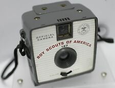 Rare - Imperial Satellite Official Boy Scouts Of America 127 Film Camera - Worn