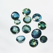 3.4 cts blue sapphire faceted round cut sri lanka