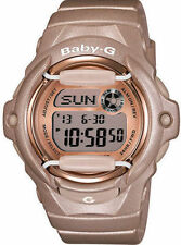 Casio Women's BG169G-4 Baby G Pink Champaign Watch