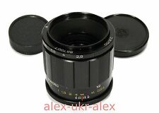 Russian MC Volna-9 2,8/50 mm macro lens M42 mount.Mint.№867007