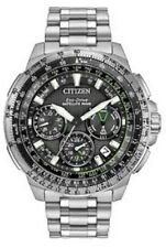 NEW CITIZEN PROMASTER NAVIHAWK GPS SATELLITE WAVE CHRONO BRACELET CC9030-51E