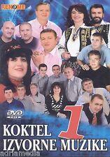 KOKTEL IZVORNE MUZIKE 1 Mara i Lole DVD Barabe Zlatne Zice Vihor 95 Legende Hit