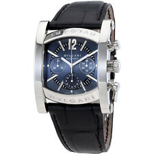 Bvlgari Assioma Chronograph Automatic Ardoise Dial Mens Watch AA48C14SLDCH