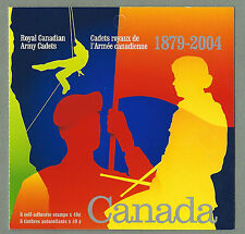 CANADA 2004 - Folded Booklet - CANADIAN ARMY CADETS - (8 @ 49c) - Complete - MNH
