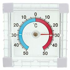 Window Indoor Outdoor Wall Greenhouse Garden Home Room Temperature Thermometer