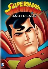 SUPERMAN AND FRIENDS 4 Episodes and Special Features DVD