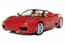 FERRARI 360 SPIDER RED DIE CAST 1/18 BY HOT WHEELS 27774 NEW