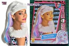Monster High ABBEY BOMINABLE Fashion Dress Up CHILD WIG Halloween Costume Hair !