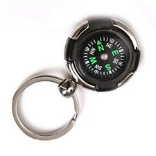 Snap In Outdoor Compass Keychain Car Key Ring key Chain Survival Compass Hiking