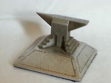 Soviet Russian vintage 1930's Art Deco antique anvil paperweight