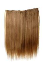 Toupet ampia Extensions capelli 5 Clips liscio Biondo scuro 45cm L30173-19