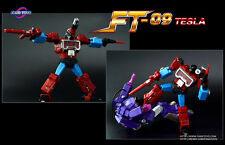 Transformers G1 Masterpiece Perceptor Fans Toys FT-09 Tesla
