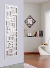 Garderobe Wandgarderobe Design Downtown, 140x40x2 cm, weiß (Kleiderständer)