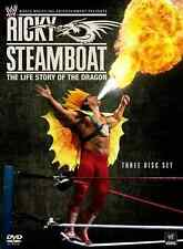 """WWE -  Ricky """"The Dragon"""" Steamboat (DVD 3-Disc Set) NEW/SEALED Wrestling"""