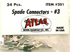 Atlas 201 Spade Connectors #3 package of 24