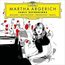 Martha Argerich - Early Recordings: Mozart Beethoven Prokofiev Ravel [New CD]