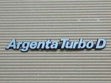 NOS STEMMA / EMBLEM / ANAGRAMA / SIGLE 215MM FIAT ARGENTA TURBO DIESEL