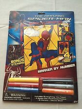 New The Amazing Spiderman Marker by Number_4 Designs_Stickers_Marvel