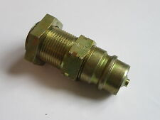 "1/2"" Hydraulic Quick Coupling with ISO A Profile Series 2000 24° Cone #4A169"