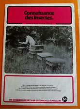 ALBUM PHOTOS CHROMOS CHOCOLAT POULAIN 1982 CONNAISSANCE DES INSECTES SERIE 25