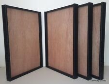 4 JERSEY Display Cases and Hangers Frame Football Baseball Basketball Shadow Box