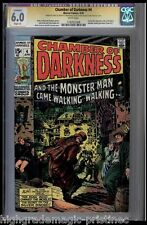 CHAMBER OF DARKNESS #4 CGC 6.0 SS STAN LEE SIGNED CGC #1182925008