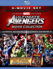 Ultimate Avengers 3 Move Collection (Blu-Ray,2015)Brand New