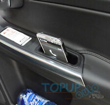 FIT FOR 2009-2016 VOLVO XC60 DOOR STORAGE BOX HANDLE ARMREST PHONE CONTAINER