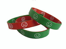 3 Mood Communication Youth Silicone wristbands