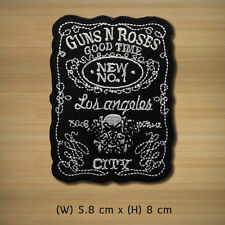NEW GUNS N' ROSES Embroidered Patch Iron On Sew Applique Rock Band Star Music