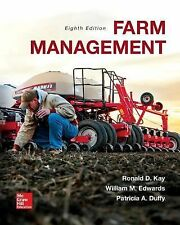 Farm Management by Patricia A. Duffy, Ronald D. Kay and William M. Edwards ,8e