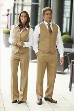 SIMON JERSEY LADIES FT0970 TROUSERS BEIGE OFFICE CORPORATE BUSINESS SMART