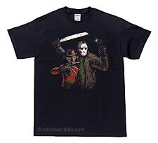 BFF Freddy Jason Selfie Horror Gothic T-Shirt  S - XL