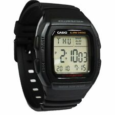 Casio Original Men's Multifunction Sport 10 Year Battery Watch W-96H-1B New W-96