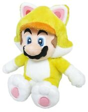 "Genuine Official Little Buddy 10"" Cat Mario plush Stuffed Doll Toy Super Mario"